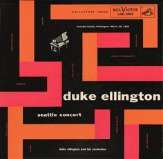 Project Thirty-Three: Seattle Concert (RCA, 1954) #music #cover #album