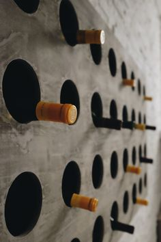 Wine bottle wall?