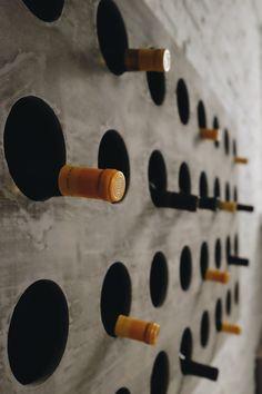 Wine bottle wall?