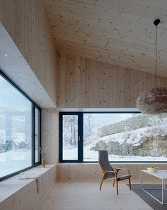 Contemporary Black Wooden House 6
