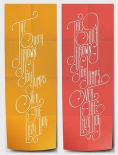 Neo Orient Type on the Behance Network #orange #red #typography