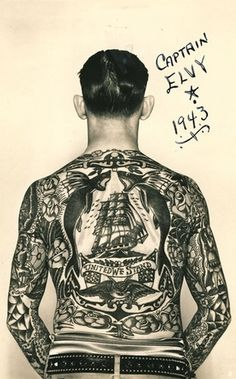 dreaming of revelry #sailor #tattoo #ink #vintage