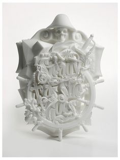 Steady As She Goes, A 3D Printed Typographic Sculpture #printing #sculpture #3d #typography