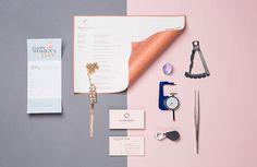 Danh Hien Jewelers jewelry branding corporate design diamond beautiful minimal design inspiration mindsparkle mag www.mindsparklemag.com
