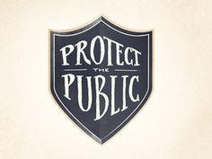 Protectthepublic #logo #lettering