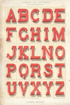 photo #type #specimen #alphabet #vintage
