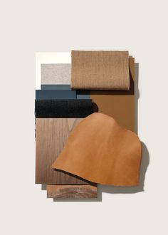 More textures, papers and leather