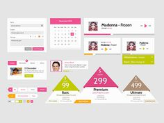 Premium UI Kits & Design Resources #resources #ux #kit #ui