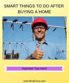 Smart Things To Setup After Buying A Home