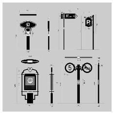 Wayfinding | Signage | Sign | Design | 高档小区花园导视系统