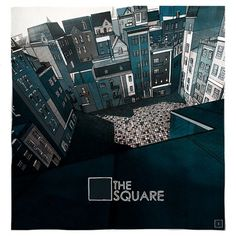 The Square on the Behance Network #illustration #square