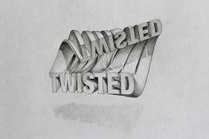Amazing 3D Typography by Lex Wilson