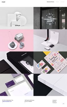 Nout Studio - Mindsparkle Mag - Nout is a graphic design studio for forward thinking brands and clients based in Singapore whose website is