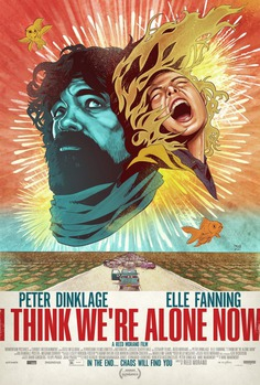 I Think We're Alone Now – Poster Design