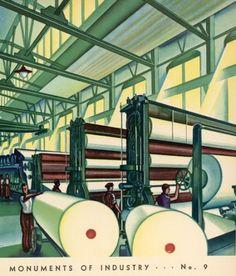 tumblr_lz51nozWsm1r3k32oo1_500.jpg 500×585 pixels #illustration #factory