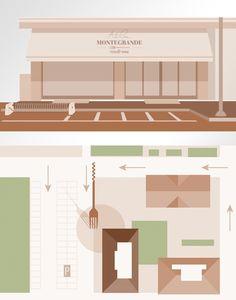 Atelier Montegrande food & wine - illustration by www.o-zone.it