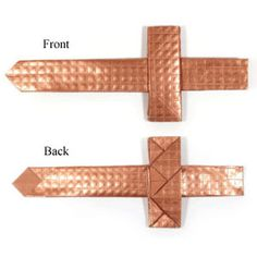 How to make an easy origami sword (http://www.origami-make.org/howto-origami-sword.php)