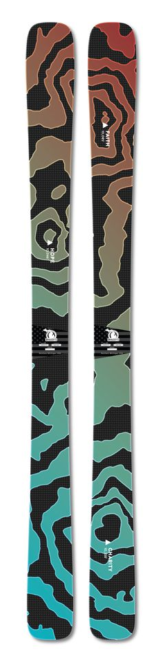 3 Sisters Custom Ski graphics