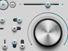 stereo gui #interactive #gui #design #tereo