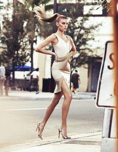Марина Линчук для журнала Vogue Russia