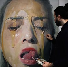 hyperrealistic-oil-painter-mike-argas #real #hyper #painting #art #artist