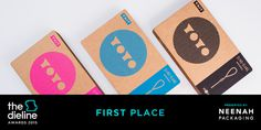 The Dieline Awards 2015: 1st Place Games, Toys, Sports, Recreational- Sling-Slang YOYO