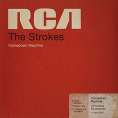 Comedown Machine Cover Design #record #cover #retro #typography