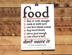 Food Rules Print #tech #flow #gadget #gift #ideas #cool