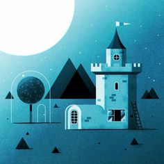 Digital Illustrations by Ned Wenlock | WE AND THE COLOR #illustration