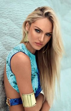 Candice Swanepoel for Agua De Coco's Spring 2013 #model #pose #photography #portrait #jewelry #fashion #beauty