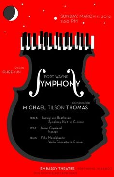 Red Symphony | Flickr - Photo Sharing! #cello #typography