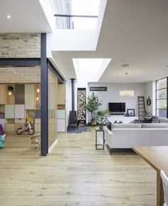 Split-Level Family Home Renovation in South London 2