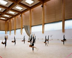 Institut national du sport et de l'éducation physique #gyms #interiors #spaces
