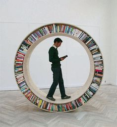 FFFFOUND! #bookcase #read