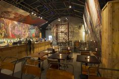Topolski Bar: celebrates the art of Feliks Topolski
