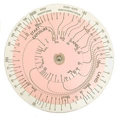 It's Nice That : Nuclear Slide Rules #info #pink #wheel