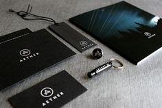 Aether is the New Black - Brand New #branding #design #graphic #brand #logo