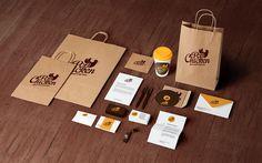 Visual Identity Process: The PopChicken Gourmet Express #popchicken #identity #branding