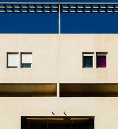 Minimalistic Architecture Photography by Loïc Vendrame