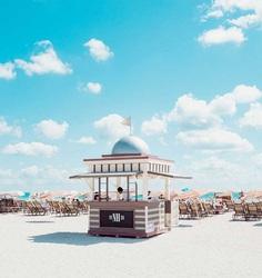 Cabana: Minimalist and Bold Landscapes of Miami Beach by David Behar