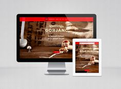New, tasty website for Kruhkerija Gorjanc. Thank... #photo #design #food #website #bread