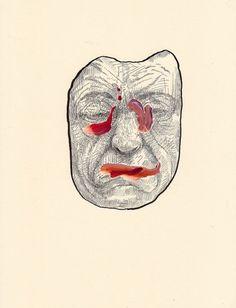 Drawings by Steven Ketchum I Art Sponge #steven #grotesque #strange #painting #ketchum #drawing