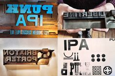 Brewdog #beer #letterpress