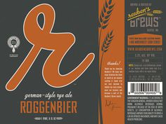 Reuben's Brews #packaging #beer #label #bottle