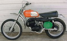Google Image Result for http://motorbike-search-engine.co.uk/classic_bikes/husqvarna_cr250.jpg #industrial #orange #husqvarana #motorcycle