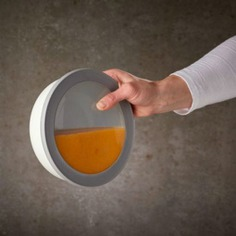 The Dutch Kitchen Bowls are large capacity container bowls perfect for serving or storing large portions of soups, stews, and salads. It comes with a transparent lid that allows you to see its contents. Dishwasher, freezer, and microwave-safe. BPA-free, 100% airtight and leak-proof.