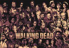 The Walking Dead #design #illustration #era #poster #art #new