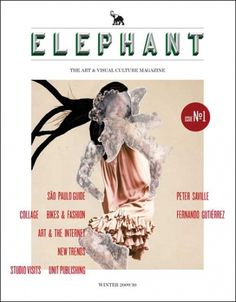 Creative Review - A magazine called Elephant