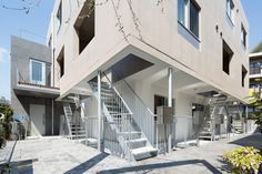 Sakanoue Terrace by Naruse Inokuma Architects