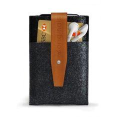 Mujjo iPhone wallet Brown #iphone #wallet #mujjo